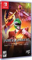 SWITCH. POWER RANGERS. BATTLE OF GRID. NOVO.