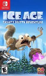 SWITCH. ICE AGE. ERA DO GELO. SCATS NUTTY ADVENTURE. NOVO.