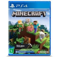 PS4. MINECRAFT STARTER COLLECTION. EM PORTUGUÊS. NOVO.