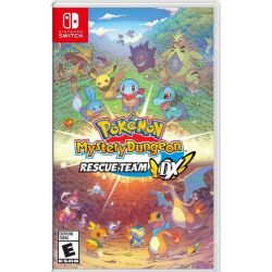 SWITCH. POKEMON MISTERY DUNGEON. RESCUE TEAM DX. NOVO.