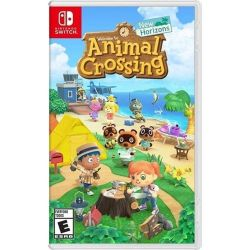 SWITCH.  ANIMAL CROSSING: NEW HORIZONS.  NOVO.