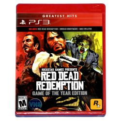 PS3. RED DEAD REDEMPTION. GAME OF THE YEAR EDITION. NOVO