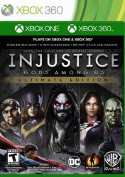 XBOX 360. INJUSTICE GODS AMONG US. ULTIMATE EDITION. 100% EM PORTUGUÊS. NOVO.
