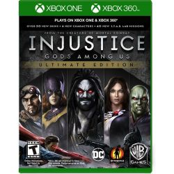 XBOX ONE. INJUSTICE GODS AMONG US. ULTIMATE EDITION. 100% EM PORTUGUÊS. NOVO.