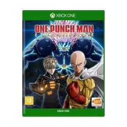 XBOX ONE. ONE PUNCH MAN.  A HERO NOBODY KNOWS. EM PORTUGUÊS. NOVO.