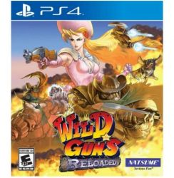PS4. WILD GUNS RELOADED. NOVO.