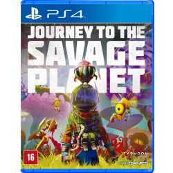 PS4. JOURNEY TO THE SAVAGE PLANET. EM PORTUGUÊS. NOVO.
