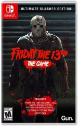 SWITCH. FRIDAY THE 13TH. THE GAME. NOVO.