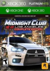 XBOX ONE. MIDNIGHT CLUB. LOS ANGELES. COMPLETE EDITION. NOVO.