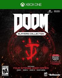 XBOX ONE. DOOM SLAYER  COLLECTION. 4 JOGOS. NOVO.