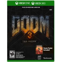 XBOX  ONE. DOOM 3. BJG EDITION. NOVO.