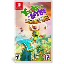 SWITCH. YOOKA LAYLEE AND THE IMPOSSIBLE LAIR. NOVO