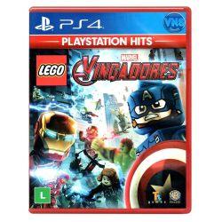 PS4. LEGO MARVEL AVENGERS. OS VINGADORES.  100% EM PORTUGUÊS.  NOVO.