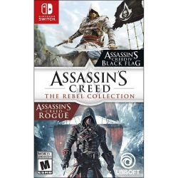 SWTICH. ASSASSINS CREED. THE REBEL COLLECTION. NOVO.