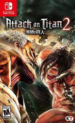 SWITCH. ATTACK ON TITAN 2. NOVO.