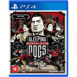PS4. SLEEPING DOGS. DEFINITIVE EDITION. NOVO.