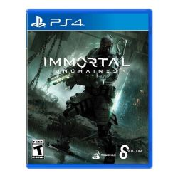 PS4. IMMORTAL UNCHAINED. NOVO.