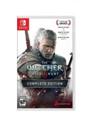 SWITCH. THE WITCHER 3 WILD HUNT. 100% EM PORTUGUÊS. COMPLETE EDITION. 2 EXPANSÕES. 16 DLCS.  NOVO.