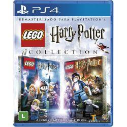 PS4. LEGO HARRY POTTER COLLECTION REMASTERIZADO. 2 JOGOS. NOVO.