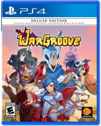 PS4. WARGROOVE. DELUXE EDITION. NOVO.