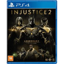 PS4. INJUSTICE 2. LEGENDARY EDITION. 100% EM PORTUGUÊS.  NOVO.