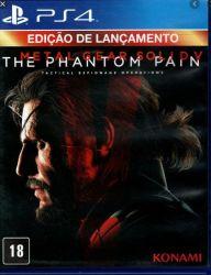 PS4. METAL GEAR V 5. PHANTHOM PAIN. EM PORTUGUÊS. NOVO.