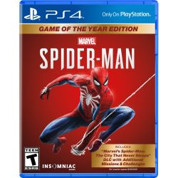 PS4. SPIDER MAN. 100% EM PORTUGUÊS. SPIDERMAN.  HOMEM ARANHA. GAME OF THE YEAR. EXTRAS. NOVO.