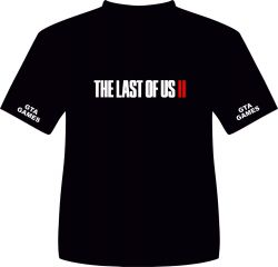 CAMISA THE LAST OF US PART II 2 . TAMANHO G.  MEDIDAS:  57L  75A