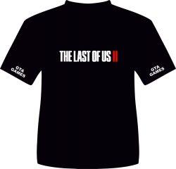 CAMISA THE LAST OF US PART  II 2 .  TAMANHO M.  MEDIDAS: 53L 71A.