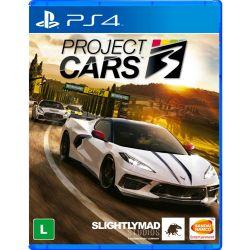 PS4. PROJECT CARS 3. NOVO.