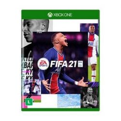 XBOX ONE. FIFA 21. 2021. 100% EM PORTUGUÊS. NOVO.