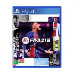 PS4. FIFA 21. 2021, 100% EM PORTUGUÊS. LANÇAMENTO: 06/10