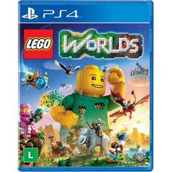 PS4. LEGO WORLDS. 100% EM PORTUGUÊS. NOVO.