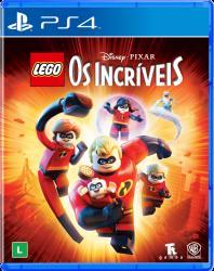 PS4. LEGO OS INCRÍVEIS.  100% EM PORTUGUÊS. NOVO.