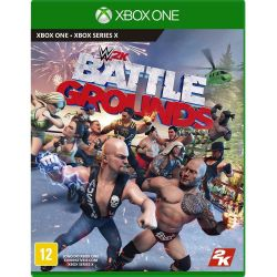 XBOX ONE. WWE 2K BATTLE GROUNDS. NOVO.