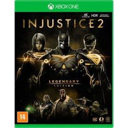 XBOX ONE. INJUSTICE 2. LEGENDARY EDITION. DUBLADO EM PORTUGUÊS. NOVO.