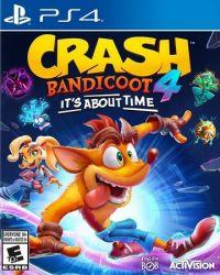 PS4. CRASH BANDICOOT 4. ITS ABOUT TIME. NOVO.