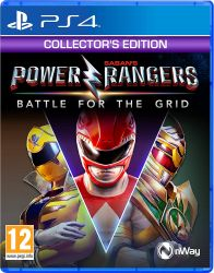PS4. POWER RANGERS. BATTLE OF THE GRID COLLECTORS. NOVO.