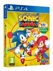 PS4. SONIC MANIA PLUS COM ARTBOOK. NOVO.