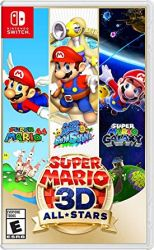 SWITCH. SUPER MARIO 3D. ALL STARS. NOVO.