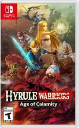 SWITCH. HYRULE WARRIORS. AGE  OF CALAMITY.  NOVO.