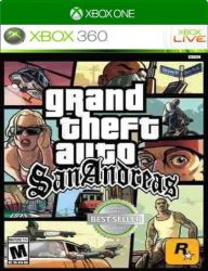XBOX 360. GTA SAN ANDREAS.   GRAND THEFT AUTO. NOVO.