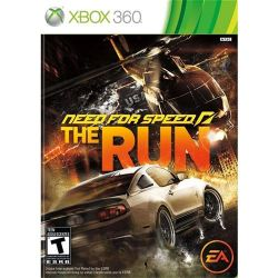 XBOX 360. NEED FOR SPEED RUN. NOVO.