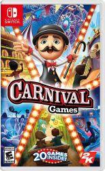 SWITCH. CARNIVAL GAMES. 20 MINI JOGOS. NOVO.