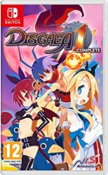 SWITCH. DISGAEA 1. COMPLETE. NOVO.