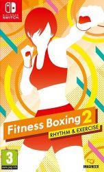 SWITCH. BOXING FITNESS 2: RHYTM & EXERCIS. NOVO.