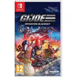 SWITCH. G. I. JOE OPERATION BLACKOUT.  NOVO.