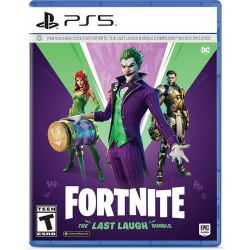 PS5. FORTNITE: THE LAST LAUGH BUNDLE. VOUNCHER CODE  PSN. NOVO