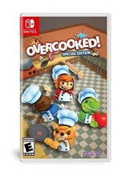 SWITCH. OVERCOOKED ! SPECIAL EDITION. NOVO.
