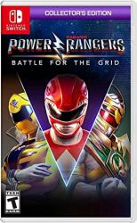 SWITCH. POWER RANGERS. BATTLE OF THE GRID COLLECTORS. NOVO.